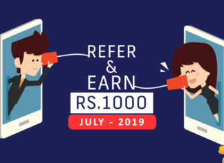 Refer and Earn Apps for July 2019